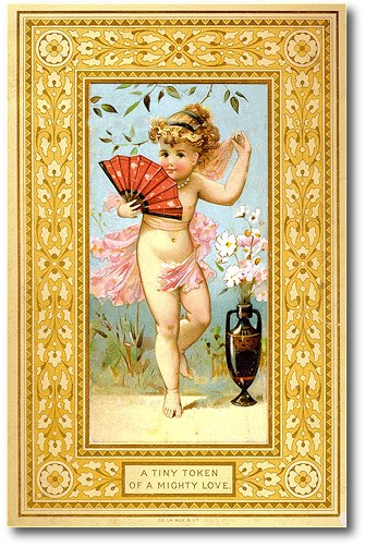 victorian greeting card manufacturers for christmas  the new year, Greeting card